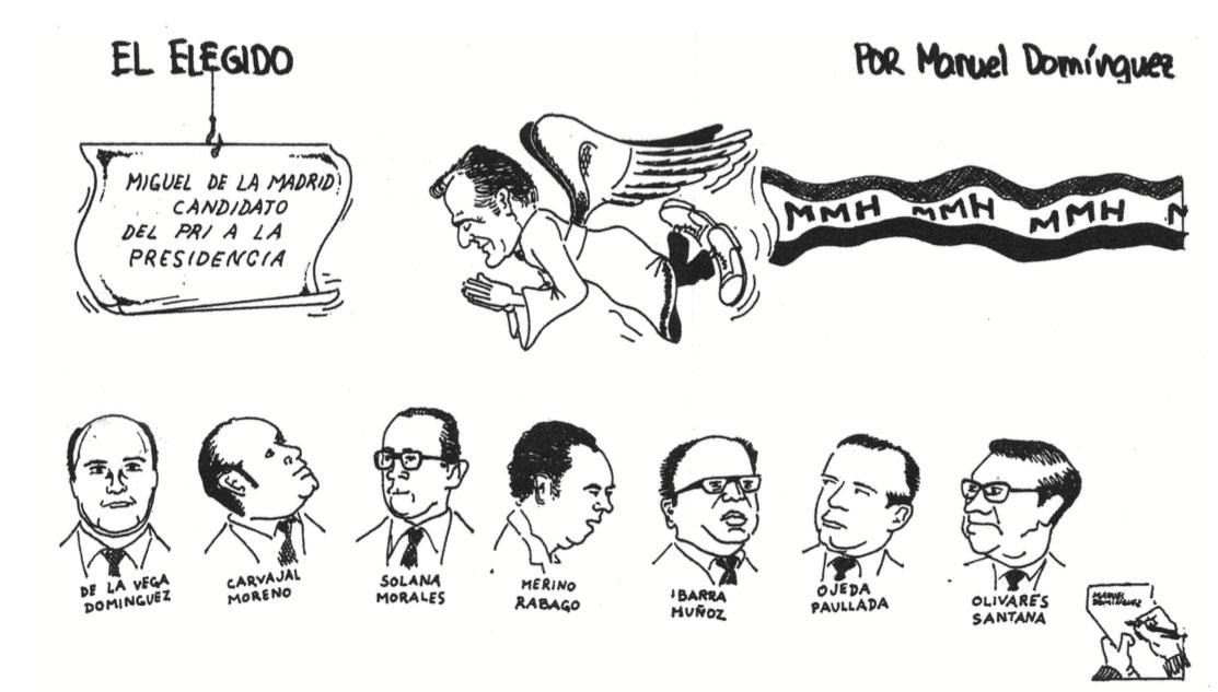 Manuel Domínguez, El elegido, Opción 10, 1981.