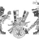 Lámina 90, Códice Zouche-Nuttall, Museo Británico.