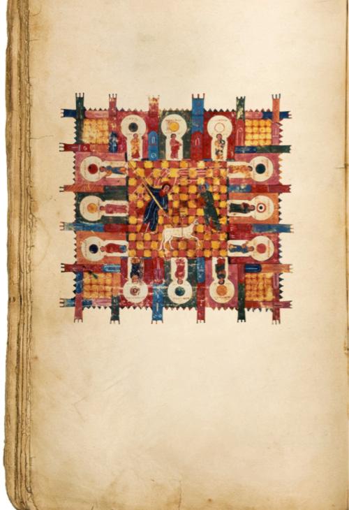 Comentario al Apocalipsis de San Juan, Beato de Liébana, s. VIII.