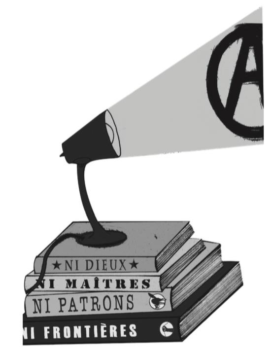 Salón del libro anarquista, Montréal, 2010.