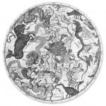 G. C. Eimmart, Planisferio s. XVIII.