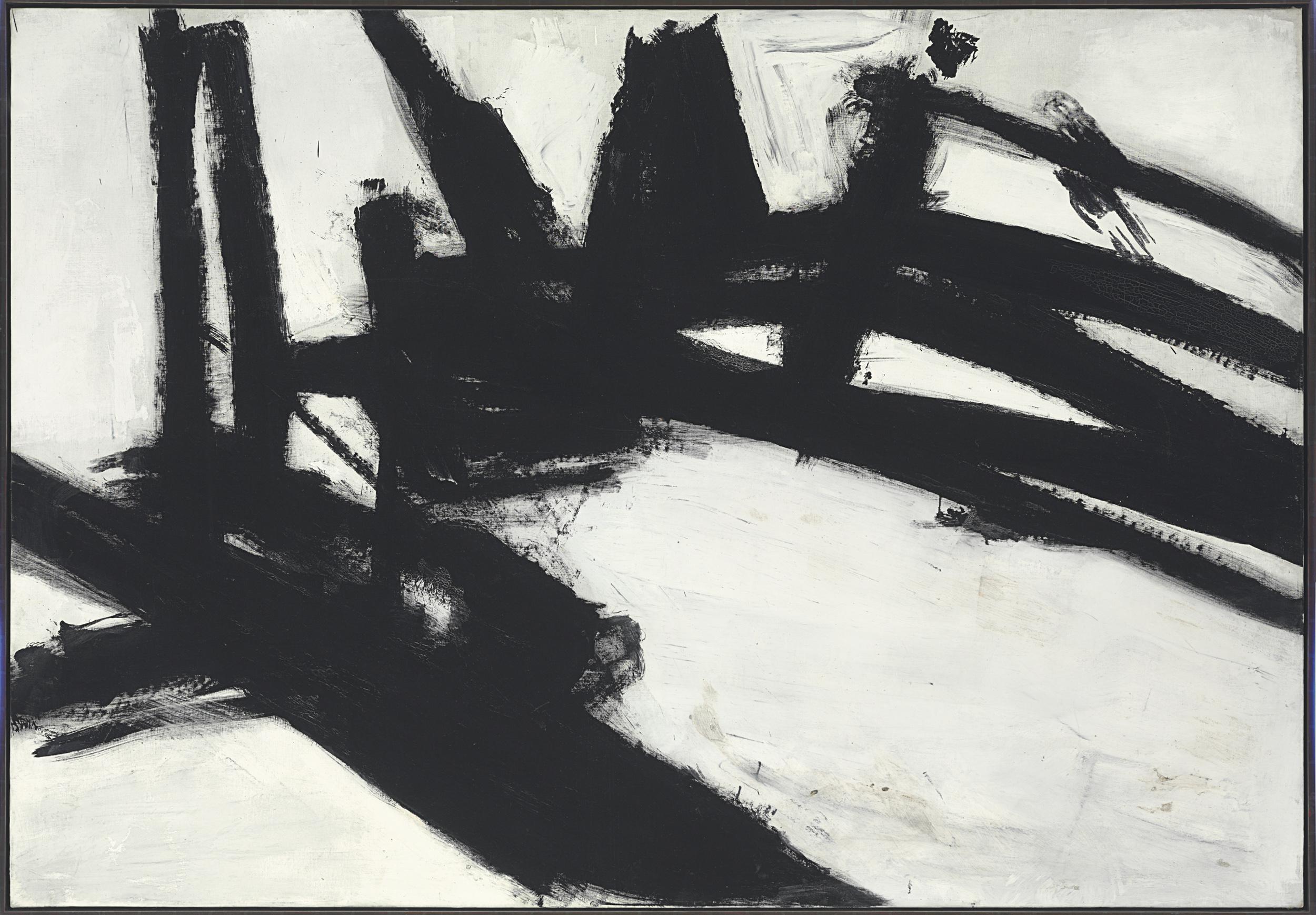 Franz Kline, Untitled, 1957.