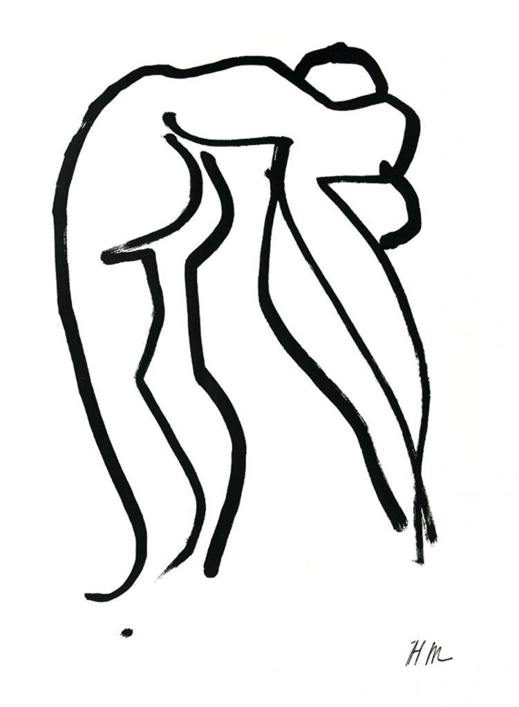Henri Matisse, Grand Acrobate, 1952.