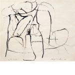Philip Guston. Untitled, 1964. Tinta sobre papel.