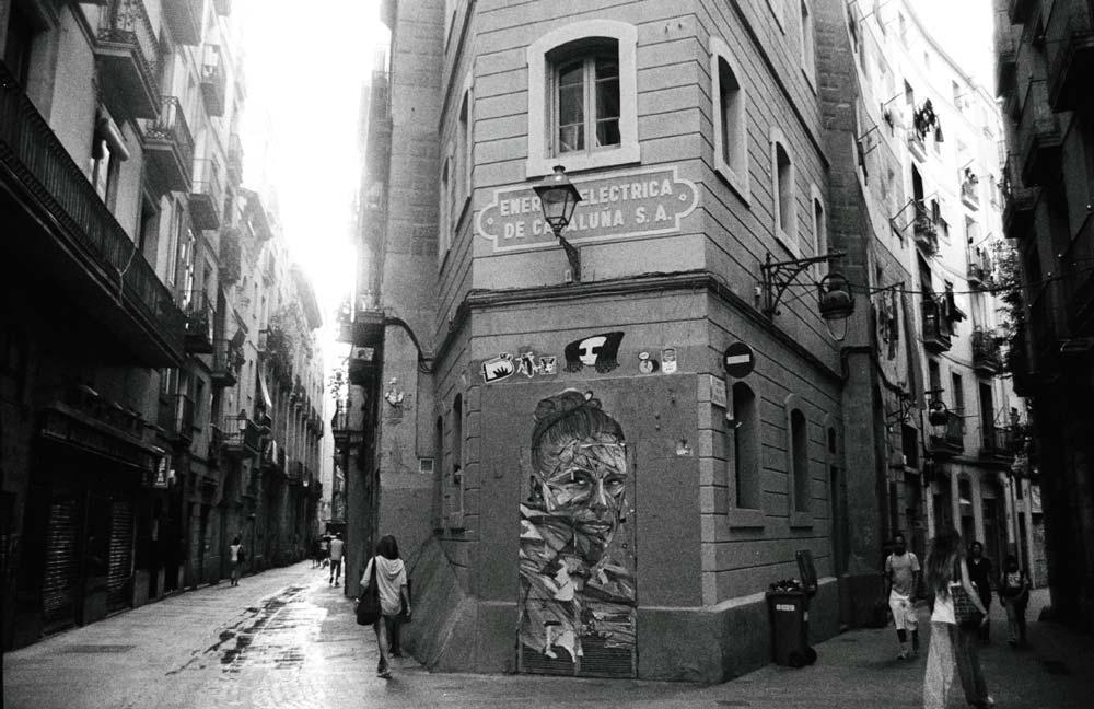 Carrers dels Tallers | Praktica LCC | Ilford 35mm | Barcelona, España