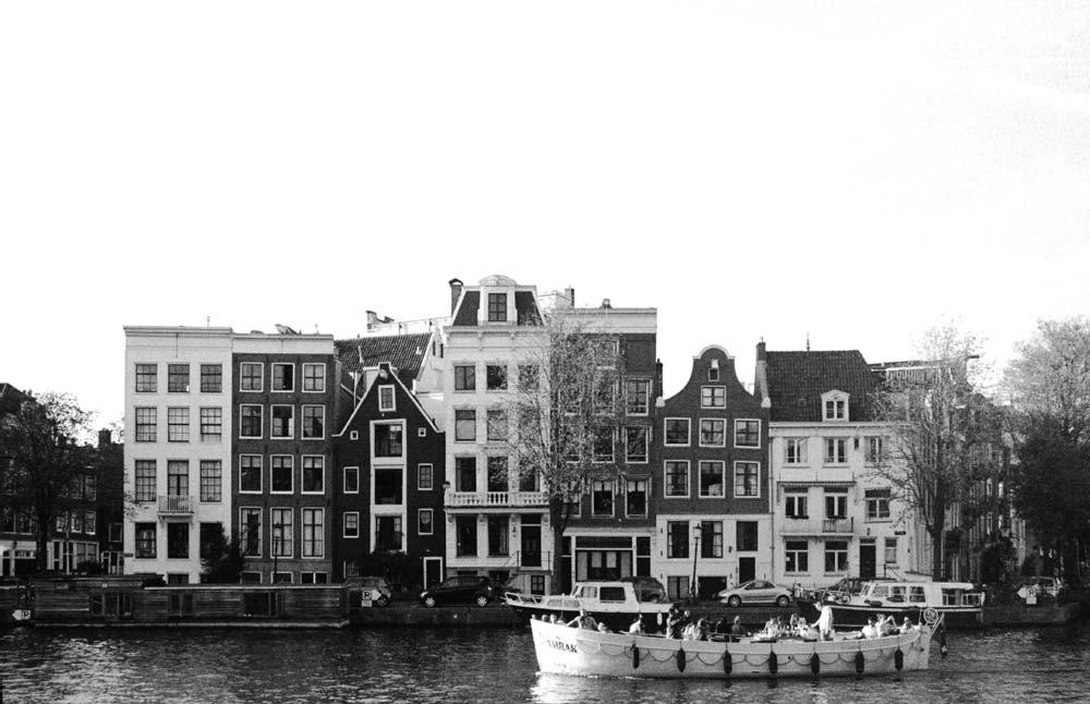 Canales | Vivitar V3000 | Ilford 35mm | Amsterdam, Países Bajos